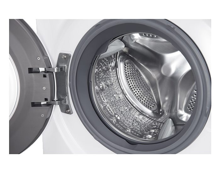 LG WD1275TC5W 7.5KG Front Load Washer Drum View