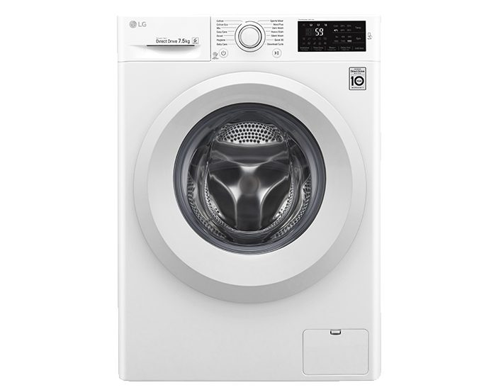 LG WD1275TC5W 7.5KG Front Load Washer Front