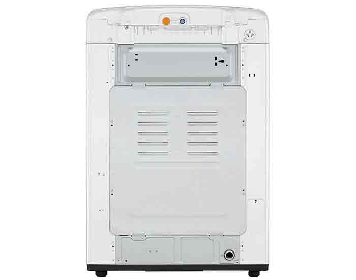 LG WTG1034WF 10Kg Top Load Washing Machine Back