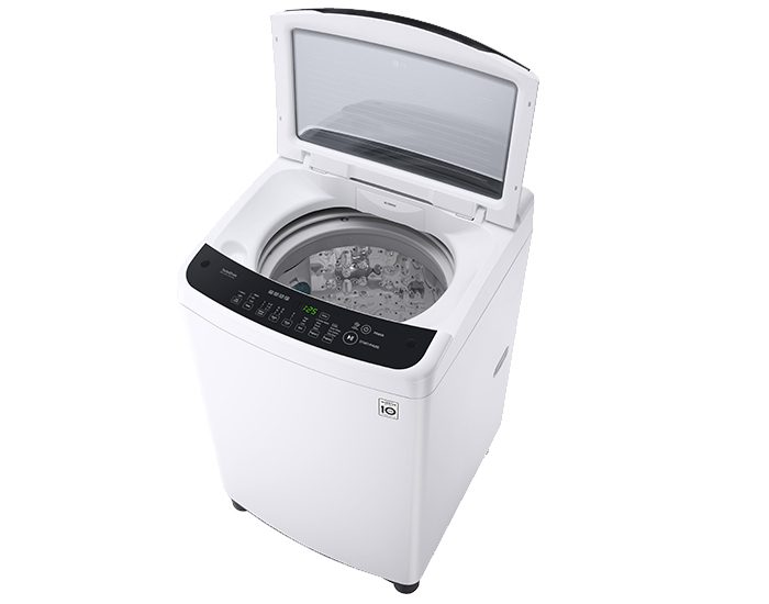 LG WTG6520 6.5Kg Top Load Washer Open Door Angle