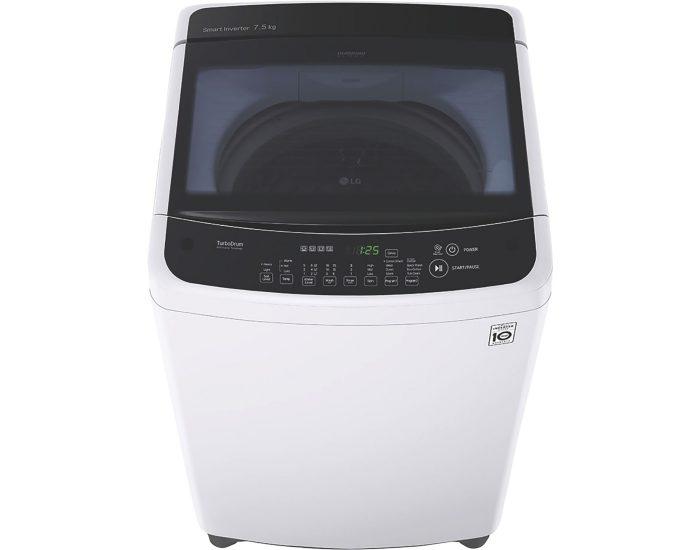 LG WTG7520 7.5kg Top Load Washing Machine closed
