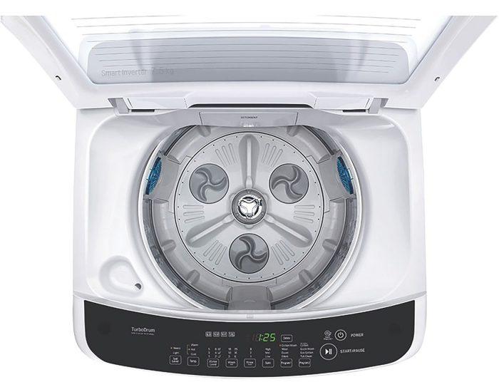 LG WTG7520 7.5kg Top Load Washing Machine top