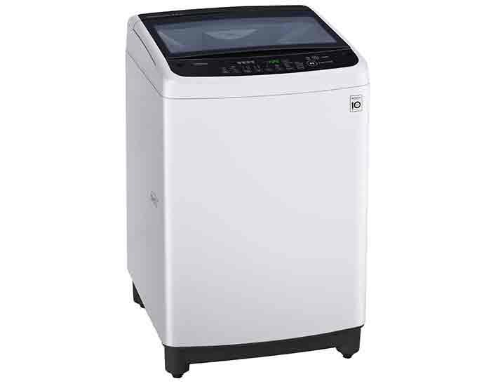 LG WTG8521 8.5Kg Top Load Washing Machine Angle