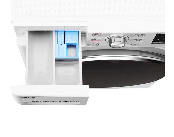 LG WTW1409VCW 9KG Front Load Washing Machine Dispenser Drawer