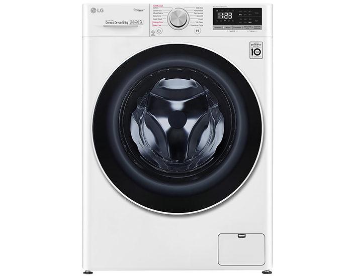 LG WV51408W 8KG Front Load Washing Machine Main