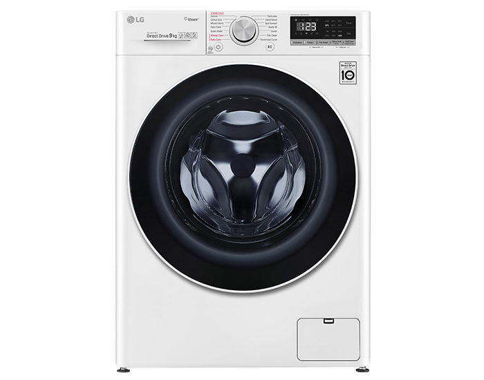 LG WV51409W 9kg Front Load Washing Machine with Steam Main