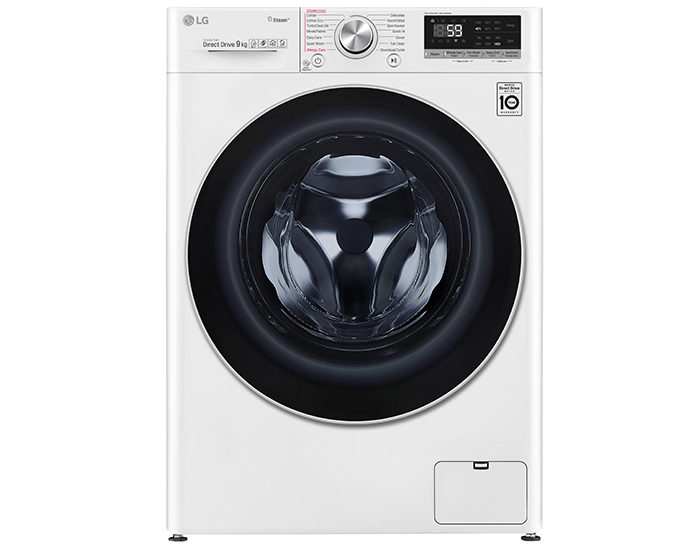 LG WV71409W 9kg Front Load Washing Machine with Steam+ Main