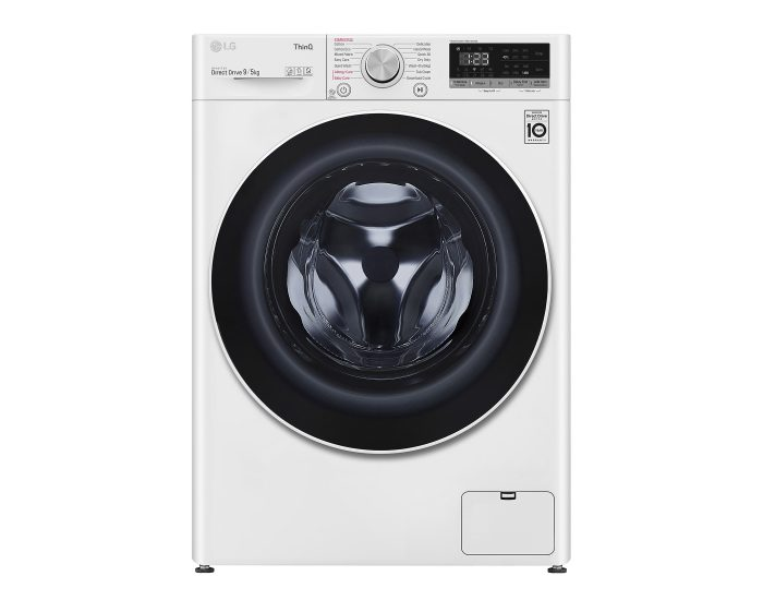 LG WVC51409W 9kg 5kg Front Load Washer Dryer Combo with Steam Main