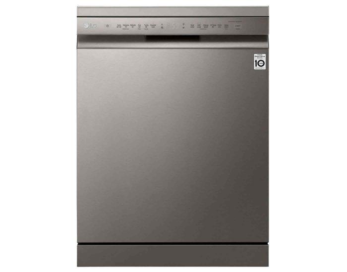 LG XD4B15PS 15 Place QuadWash Dishwasher in Platinum Steel Finish Main