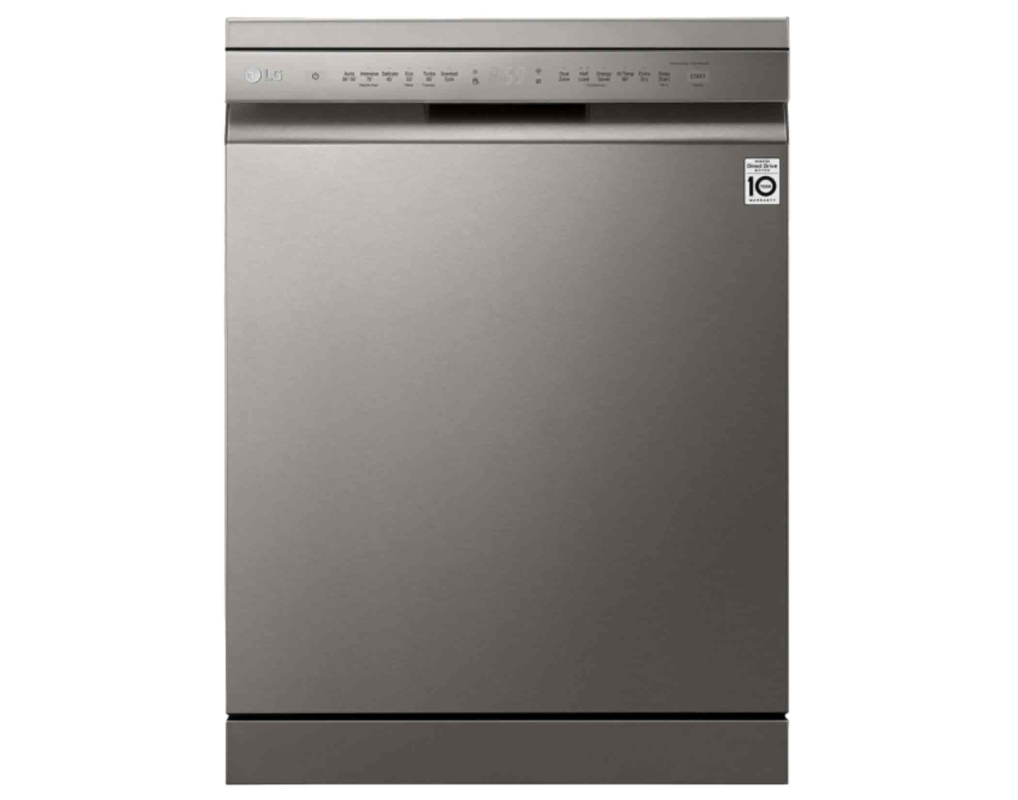 LG XD4B15PS 15 Place QuadWash Dishwasher in Platinum Steel Finish Main