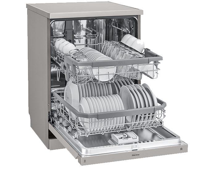 Buy LG 14 Place Quadwash Dishwasher XD4B24PS   Bi-Rite