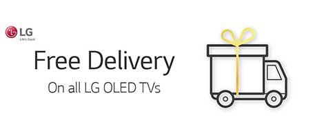 LG Free Delivery OLD TVs Slider