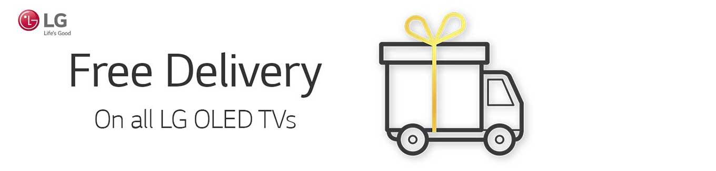 LG OLED TV Free Delivery Desktop