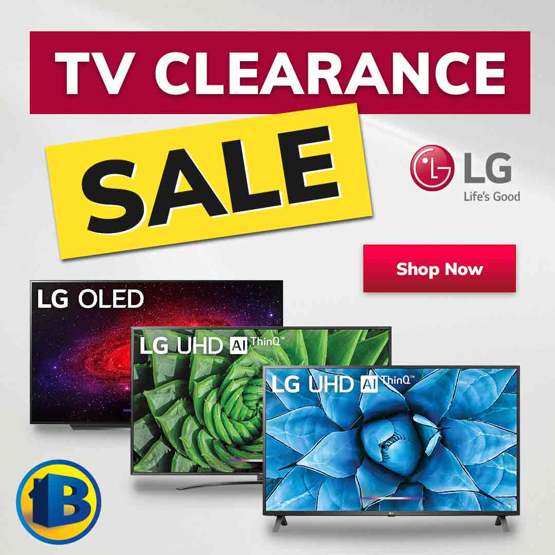 2021 LG TV Clearance Sale Mobile