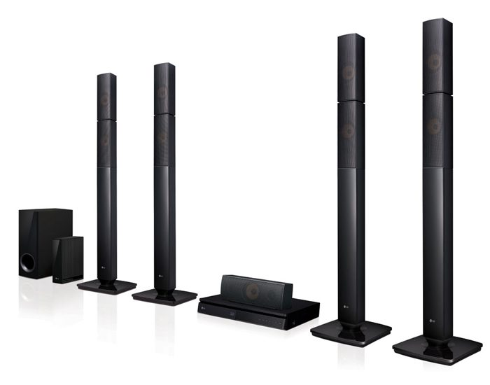 LG LHB655NW 1000W 5.1 Home Theatre