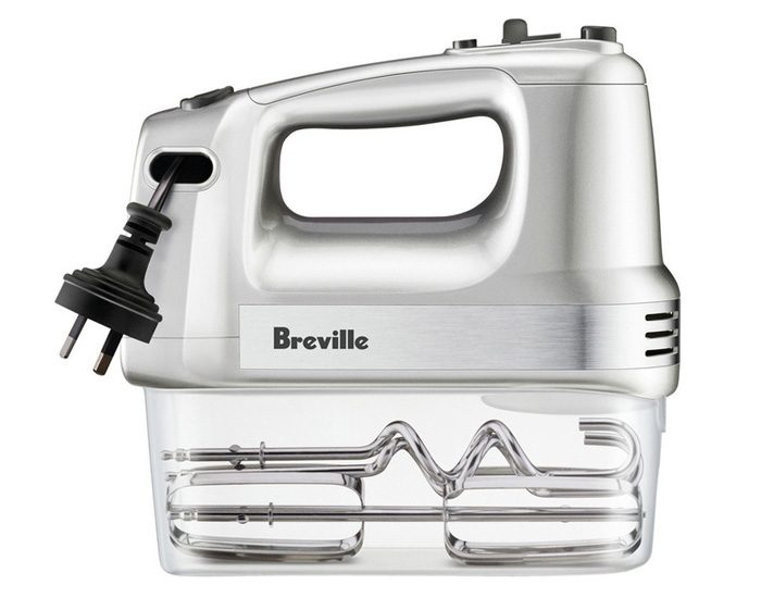 Breville LHM150SIL The Handy Mix & Store Food Mixer - Silver