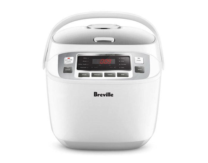 Breville LRC480WHT 10 Cup the Smart Rice Box™ Rice Cooker
