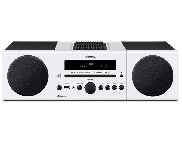 Yamaha MCRB043DWHI 30W Micro System - White