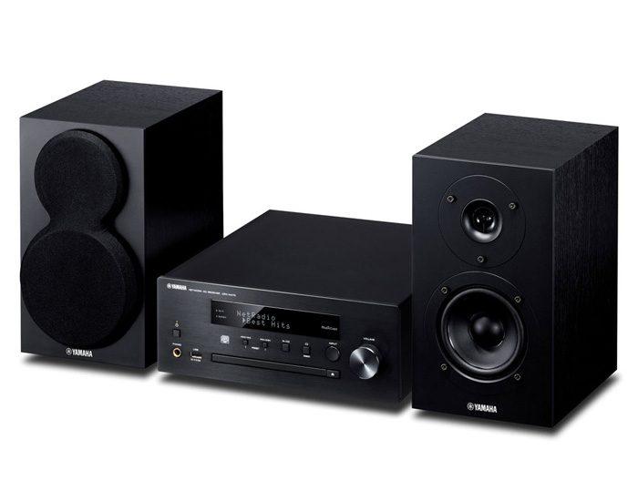 Yamaha MCRN470B Component Micro System