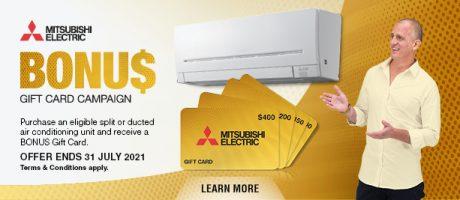 2021 Mitsubishi Gift Card Bonus Slider