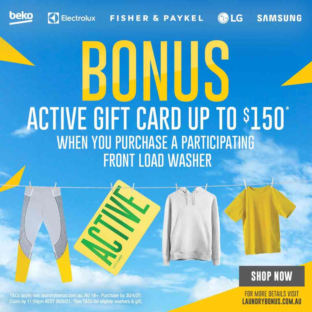 2021 Bonus Active Gift Card mobile