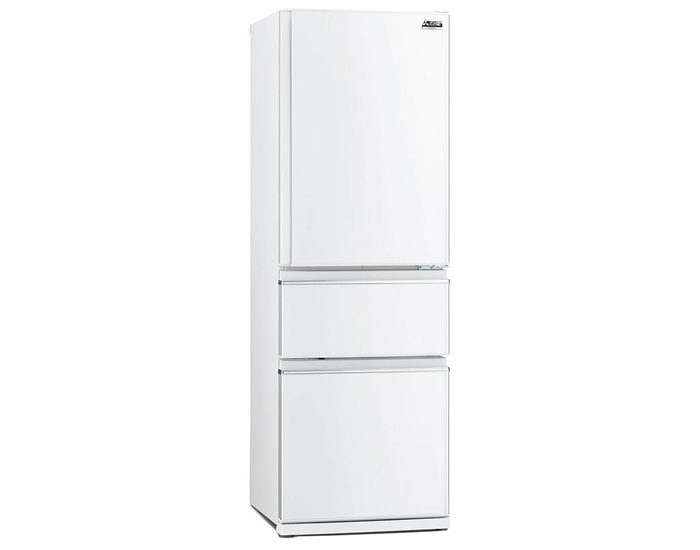 Mitsubishi Electric MRCX402EJWA 402L 3 Door Bottom Mount Fridge