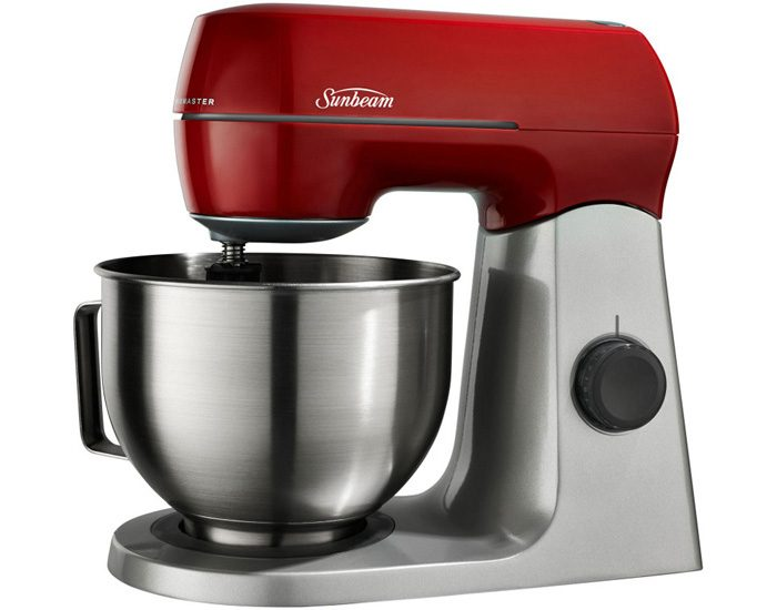 Sunbeam MX7900R 800W Planetary Mixmaster® Foos Mixer - Red