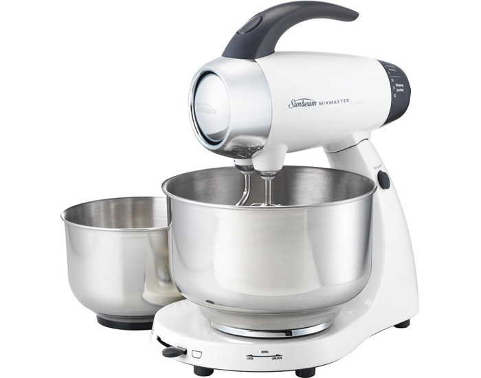 Sunbeam MX8500W 500W Mixmaster® Classic Food Mixer - White