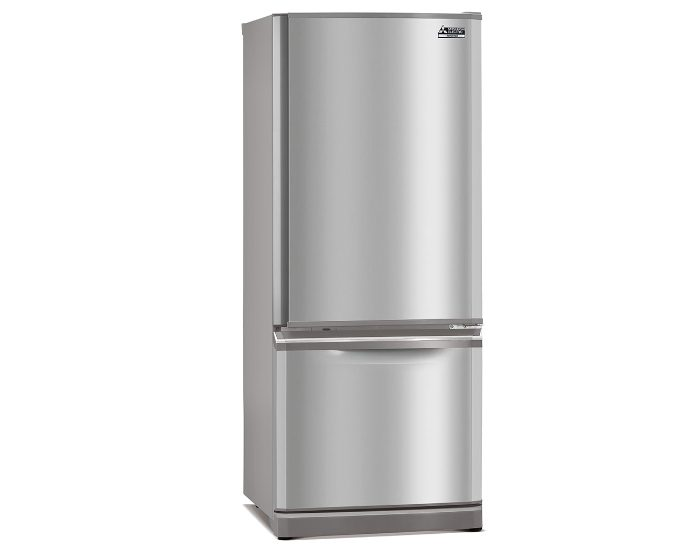 Mitsubishi Electric MRBF325EKSTA 325Lt Stainless Steel Bottom Mount Fridge Main