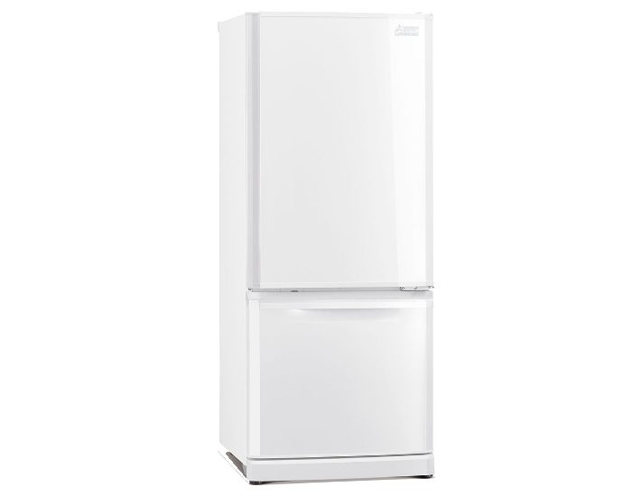 Mitsubishi Electric MRBF325EKWA 325Lt White Bottom Mount Fridge Main