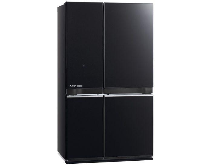 Mitsubishi MRL650ENGBKA2 650L French Door Refrigerator in Black Main