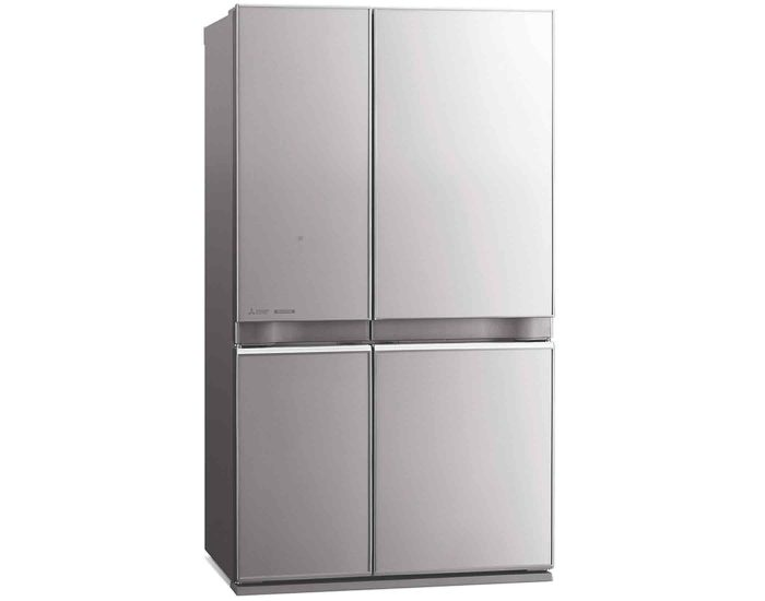 Mitsubishi-MRL650ENGSLA2-650L-French-Door-Refrigerator-in-Silver-Main2
