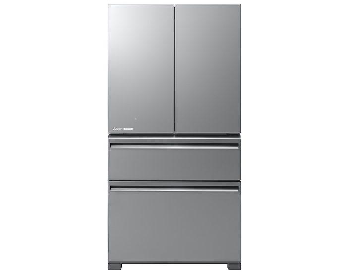 Mitsubishi MRLX630EMGSLA2 630L Argent Silver French Door Refrigerator Main