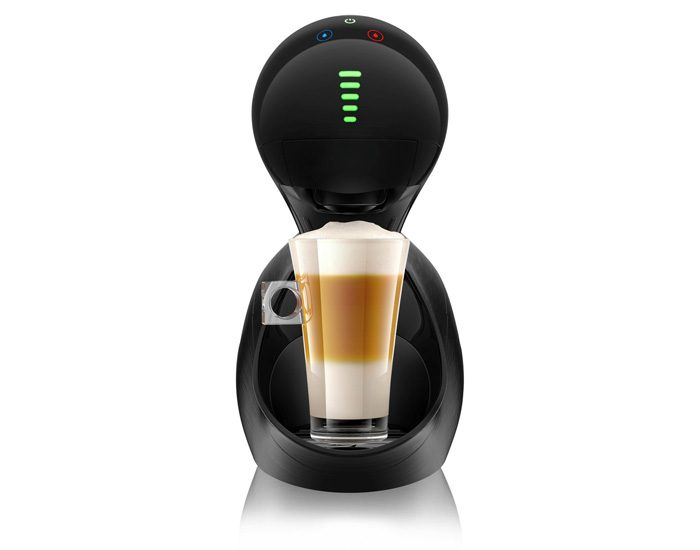 DolceGusto NCU800BBK Dolce Gusto Movenza Coffee Machine - Brushed Black