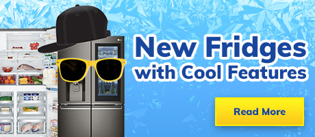 New Fridges with Cool Features