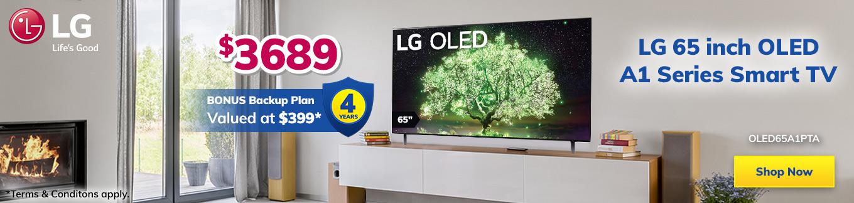 LG Month OLED 65 inch TV Desktop
