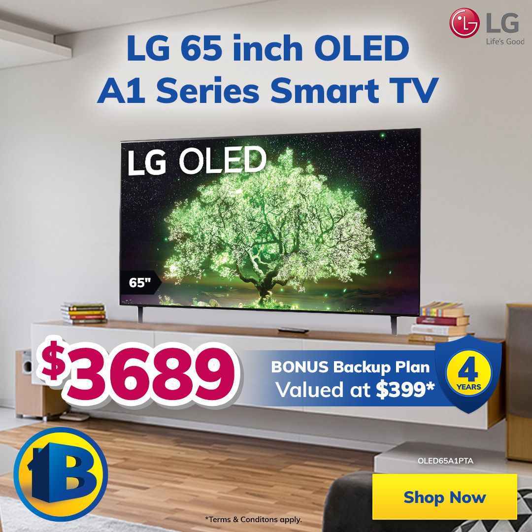 LG Month 65 inch TV Mobile