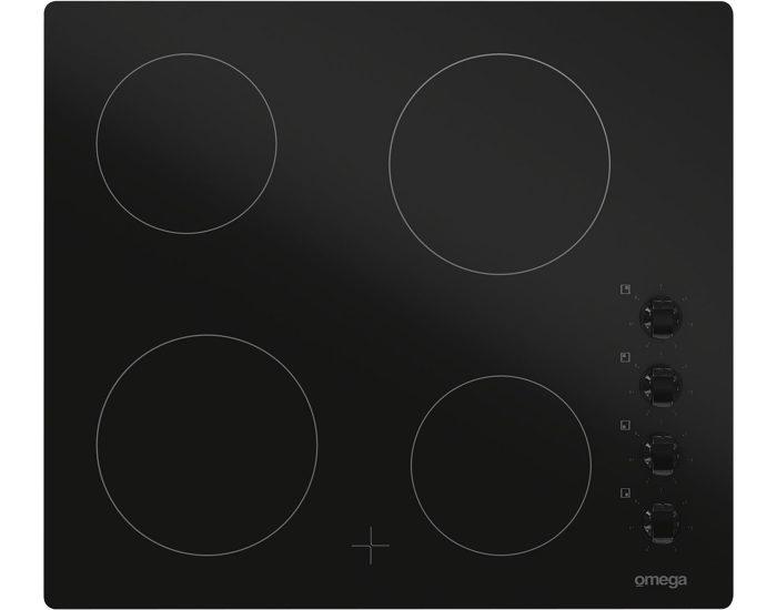 Omega OC64KZ 60cm 4 Zone Ceramic Cooktop Main