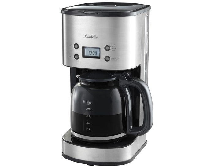 Sunbeam PC7900 12 Cup Stainless Drip Coffee Machine