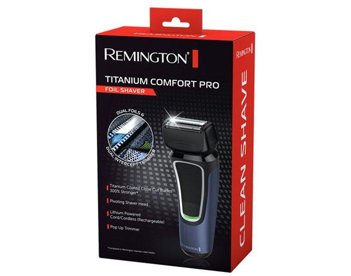 Remington PF7500AU Titanium Comfort Pro Shaver