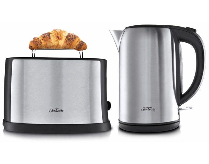 Sunbeam PU5201 Toaster & Kettle Pack