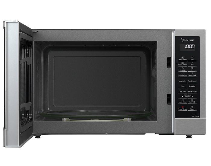 Panasonic NNST67JSQPQ 32L Silver Inverter Microwave Open