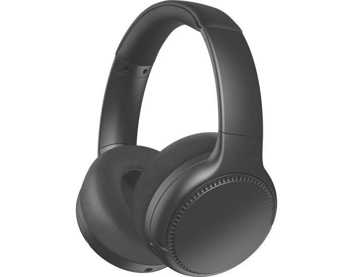 Panasonic RBM700BEK Noise Cancelling Wireless Headphones in Black Angle
