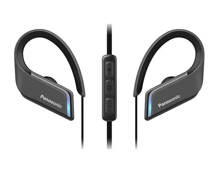 Panasonic RPBTS55EK Wireless Bluetooth Earphones Controls