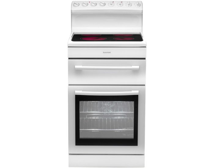 Euromaid R54CW 54cm Electric Freestanding Cooker