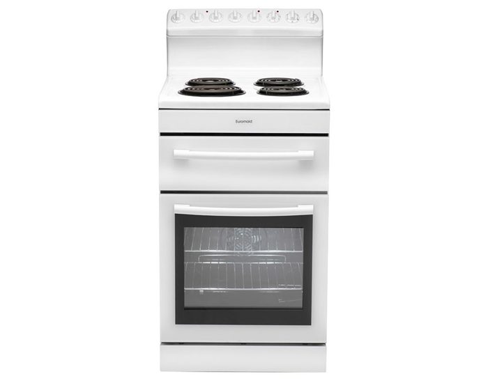 Euromaid R54RW 54cm Electric Freestanding Oven