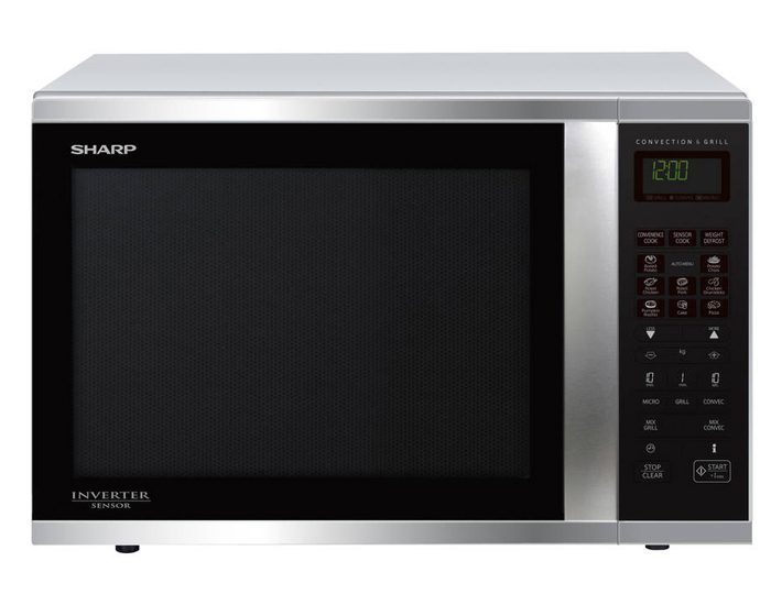 Sharp R995DST 1000W Stainless Steel Convection Microwave Oven