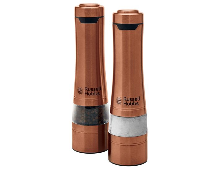 Russell Hobbs RHPK4000CPR Salt & Pepper Grinders - Copper