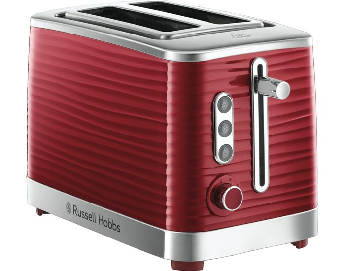 Russell Hobbs RHT112RED Inspire 2 Slice Toaster - Red