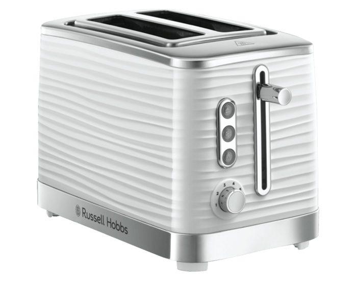 Russell Hobbs RHT112WHI Inspire 2 Slice Toaster - White